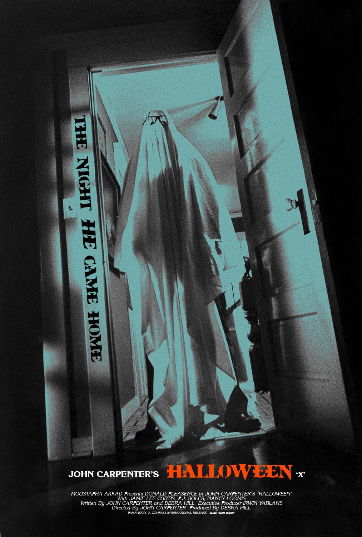 Silver Ferox Design HALLOWEEN John Carpenter 1978