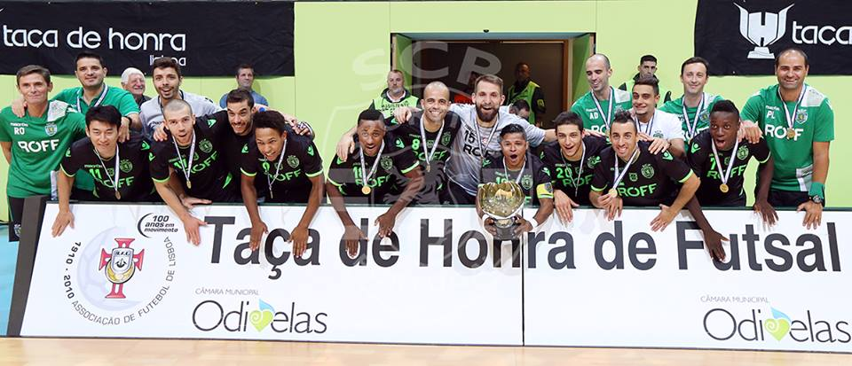 6a7fe32db9644 SPORTING FANS - Modalidades  Futsal Masculino vence Taça de Honra ...