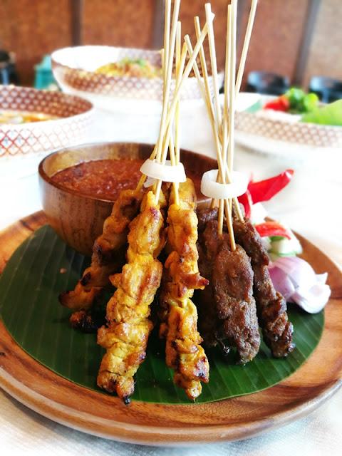 Chicken & Beef Sate - Satay Ayam & Daging