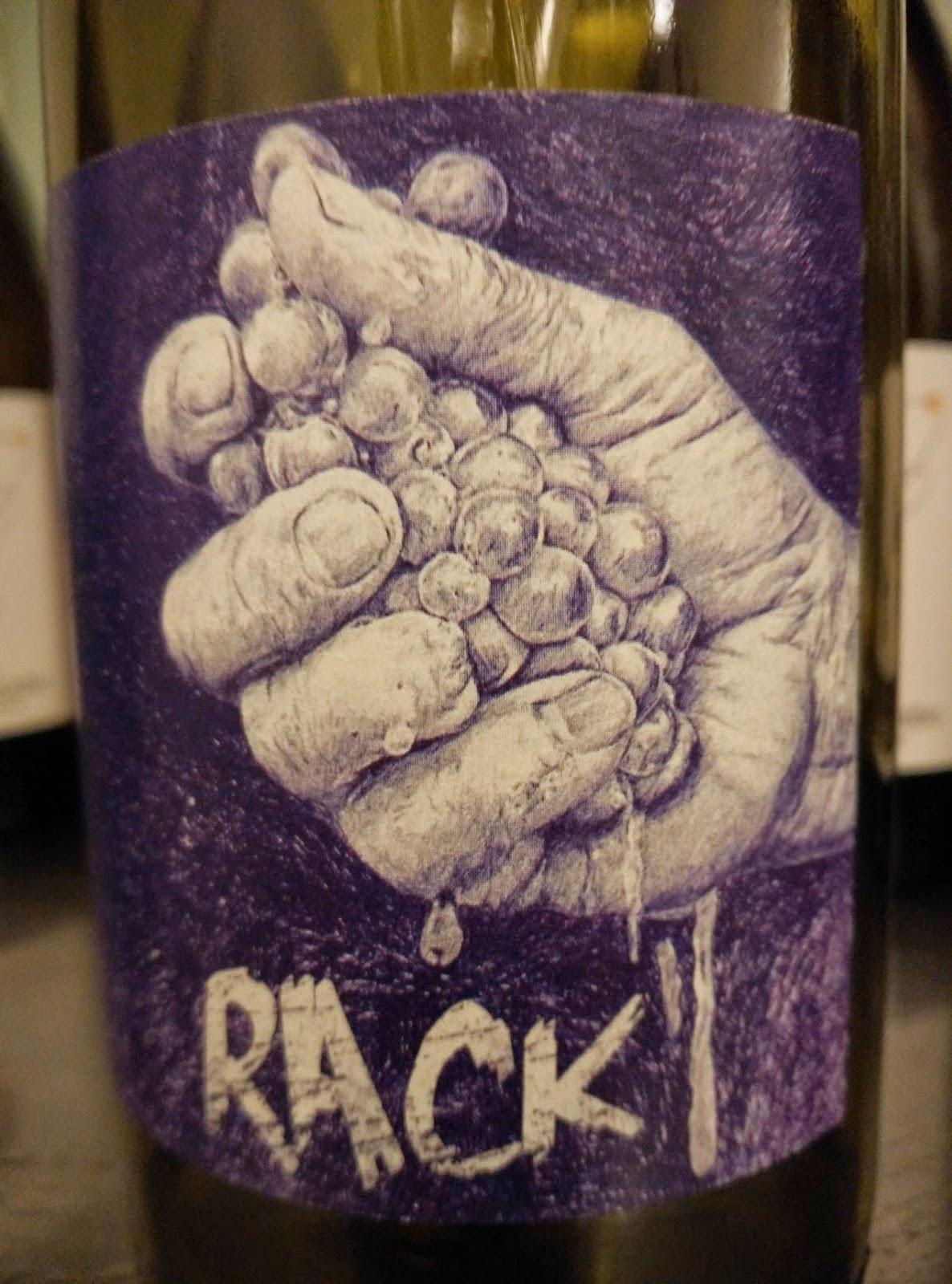 Rack, un vino de Ismael Gozalo raro y rico