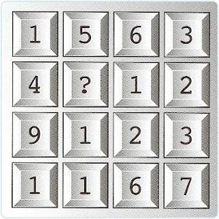 Maths Grid Riddle