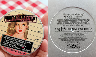 Mary-Lou Manizer highlighter makeup swatches προϊόν λάμψης