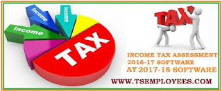 Income Tax Software 2017-18 for AP TS Employees Teachers