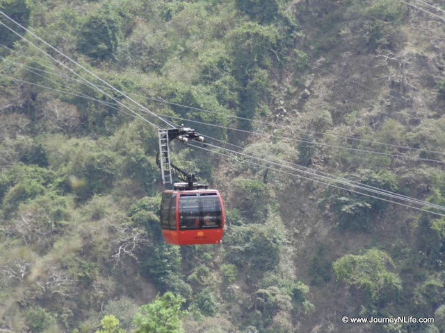 Cable car at Timber Trail Parwanoo, Himachal Pradesh