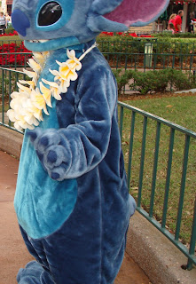 Stitch With Lei Disney Parks