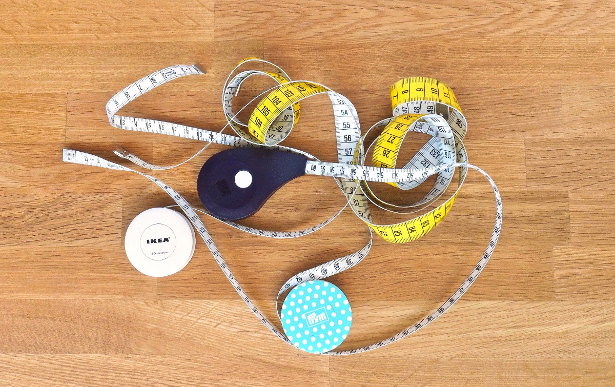 Rollmaßbänder von IKEA und Prym