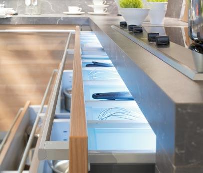 clairage tiroir cuisine ikea. Black Bedroom Furniture Sets. Home Design Ideas