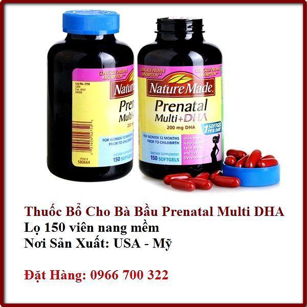 Thuốc bổ cho bà bầu loại Prenatal 150 viên