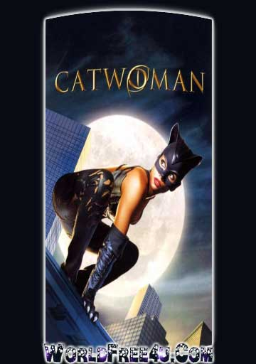 Poster Of Catwoman (2004) In Hindi English Dual Audio 300MB Compressed Small Size Pc Movie Free Download Only At worldfree4u.com