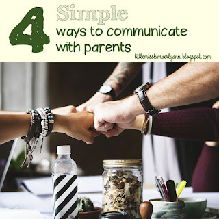 Teacher / Parent / Family Communication