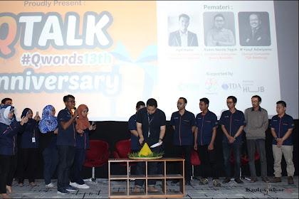 Qtalk Anniversary, Talkshow Strategi Penggunaan Website Untuk UMKM di Bandung