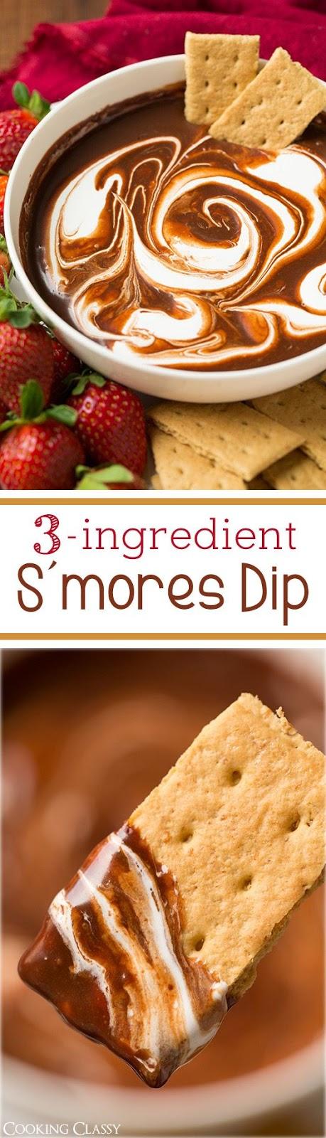 S'mores Dip (3 Ingredients)
