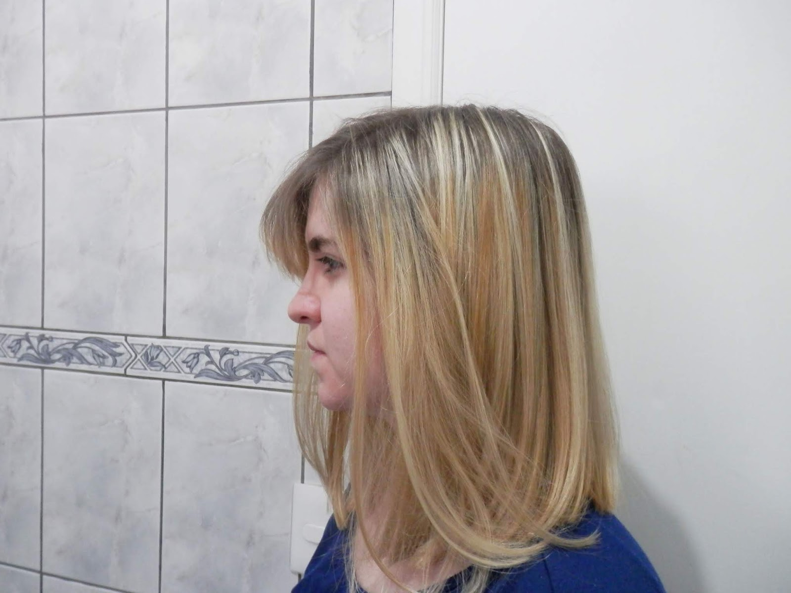 cabelo liso com creme de pentear
