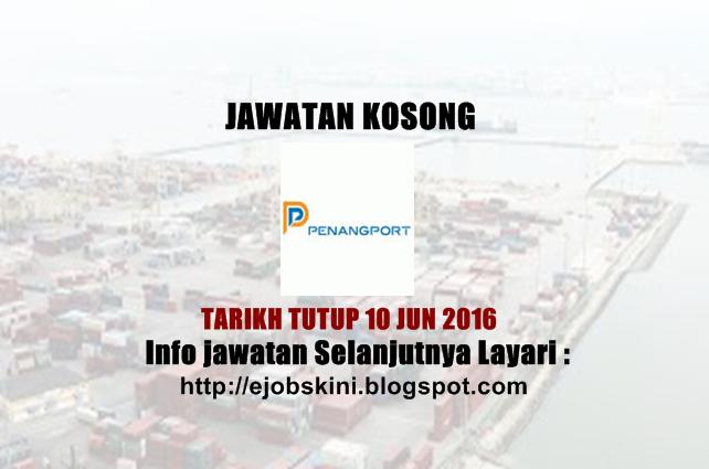 Jawatan Kosong Penang Port