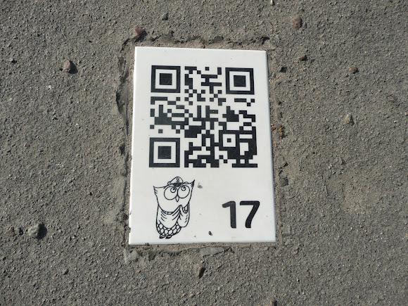 Херсон. Таблички на тротуарах возле достопримечательностей