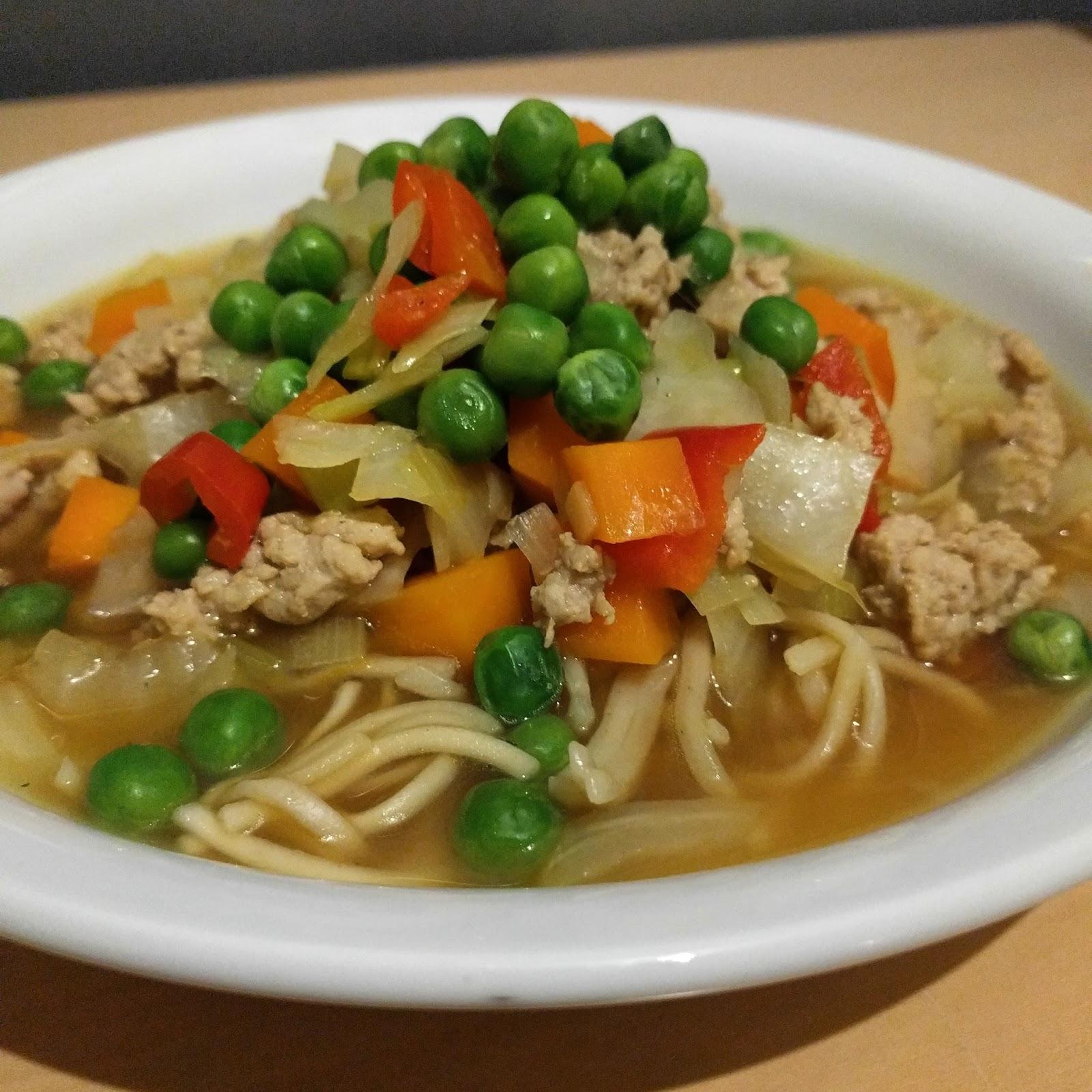 Merethe Vrå Kinesisk Suppe Med Kylling