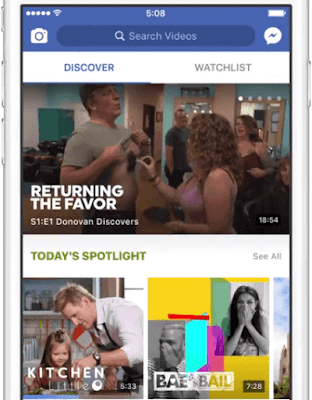 Facebook launches video platform watch