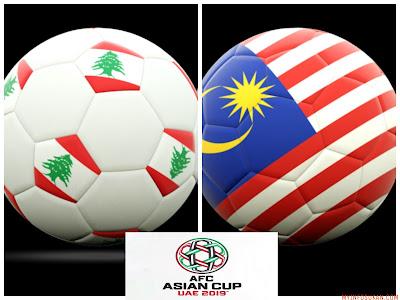 Live Streaming Lubnan vs Malaysia Kelayakan Piala Asia AFC 27 Mac 2018