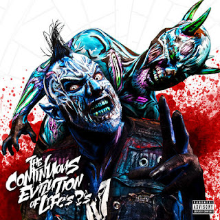Twiztid - The Continuous Evilution Of Life's ?'s (2017) - Album Download, Itunes Cover, Official Cover, Album CD Cover Art, Tracklist