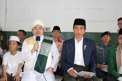 TGB Zainuddin Atsani Apresiasi Jokowi Kunjungi Korban Gempa