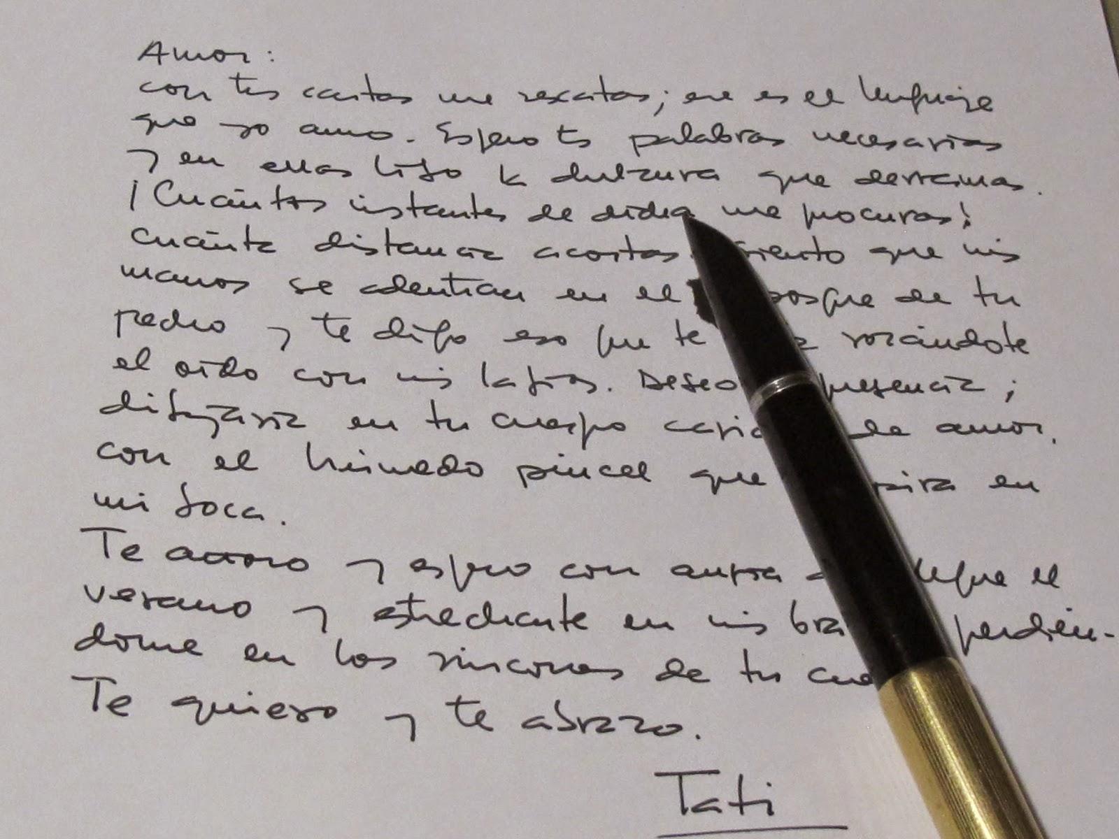 Palabras Nómadas Del Viento: Aquellas Cartas