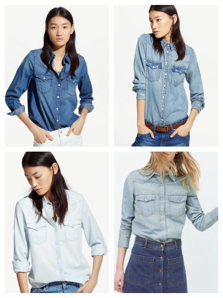 ad731a43ef You are looking for a denim shirt for spring  I picked top 16 shirts for  low prices in stores right now...which one would you buy  1.