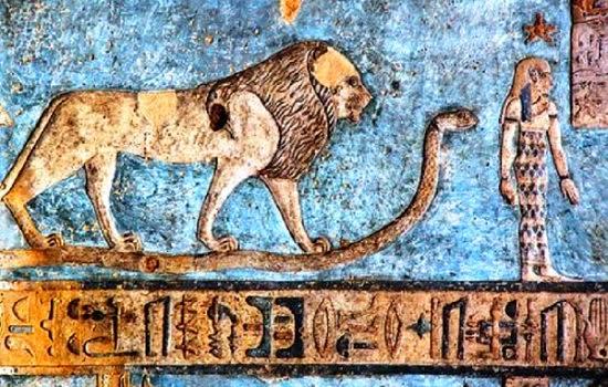 aslan yılan ve israil