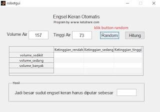 input nilai otomatis pada GUI