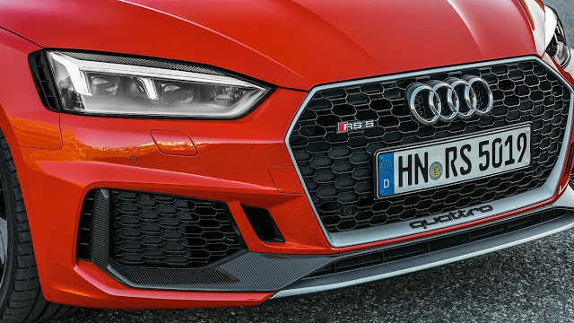 New Audi RS 4 Avant and RS 5 Coupé