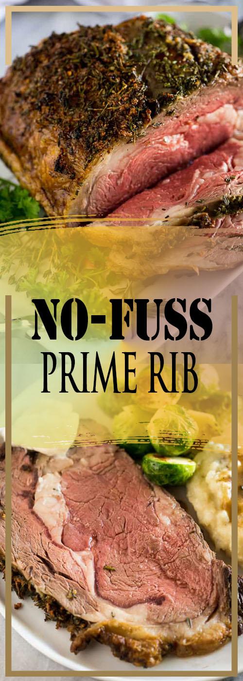 NO-FUSS PRIME RIB RECIPE