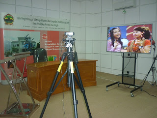 Ruang Studio Video BPTIKP Jawa Tengah