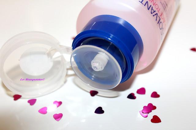 Packaging pompe du dissolvant sans acétone - Cien by Lidl - Blog beauté Les Mousquetettes©