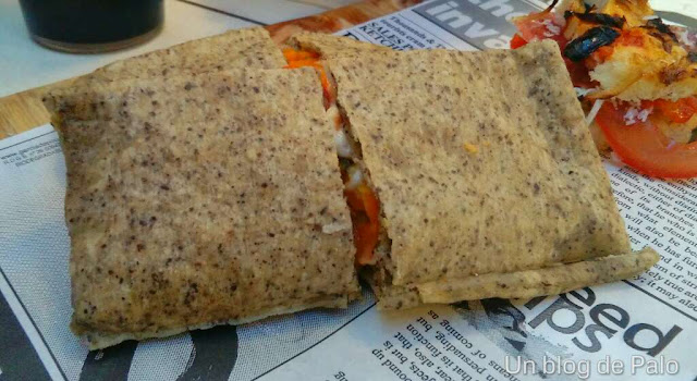 Restaurante Il Trullino - Argüelles (Madrid) Pizza con harina de cañamo