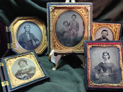 Periscope Video of Antique Photos: My Collection of Ambrotypes & Daguerreotypes