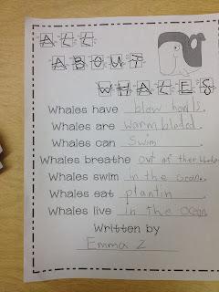 Oceans - First Grade Roars!