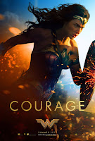 Wonder Woman (2017) Movie Poster Courage