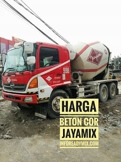 Beton Cor JAYAMIX MURAH Kebumen 2018