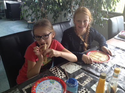 Pannenkoekentest Milou en Nina