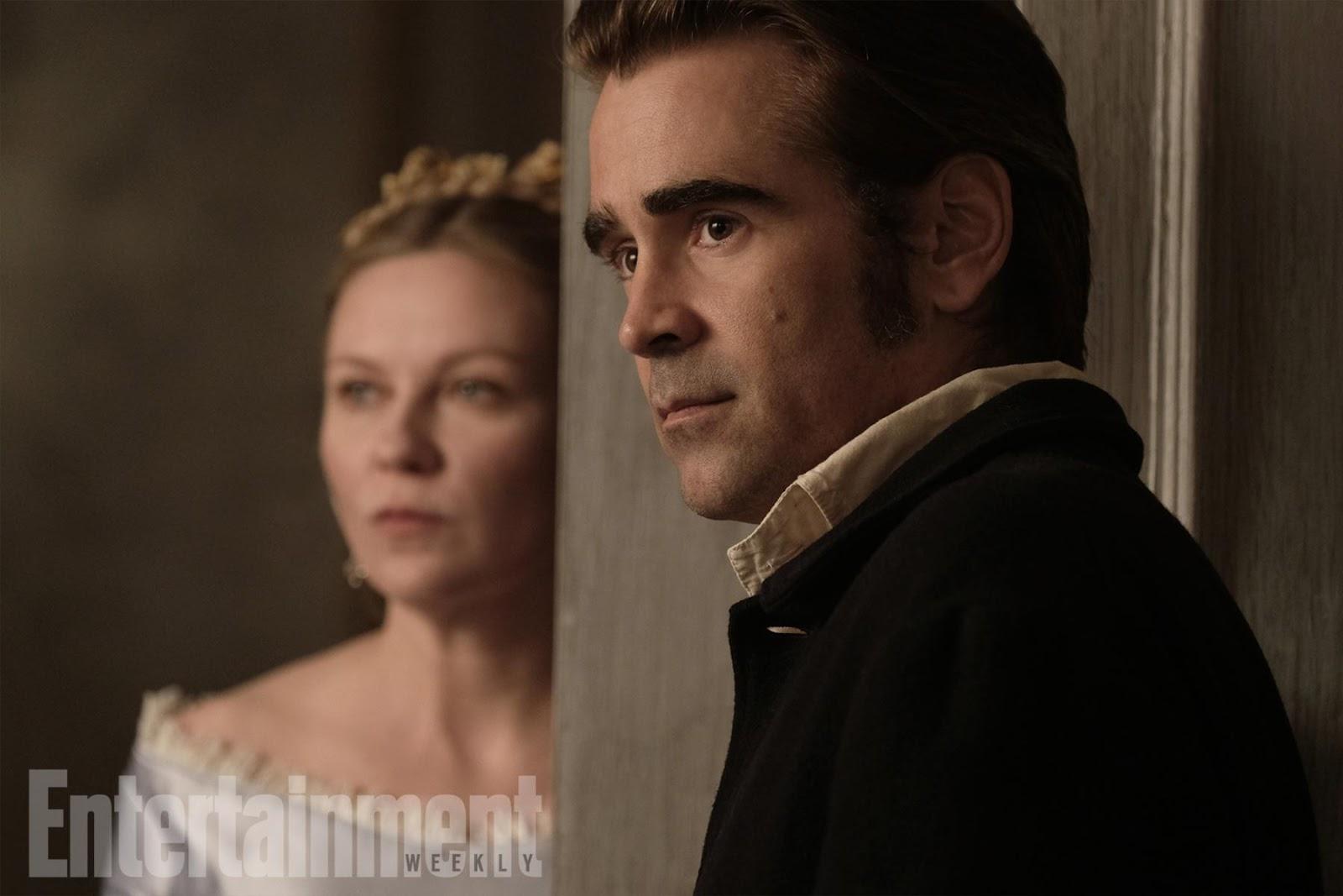LA SEDUCCIÓN, Sofía Coppola -Colin Farrell y Kirsten Dunst