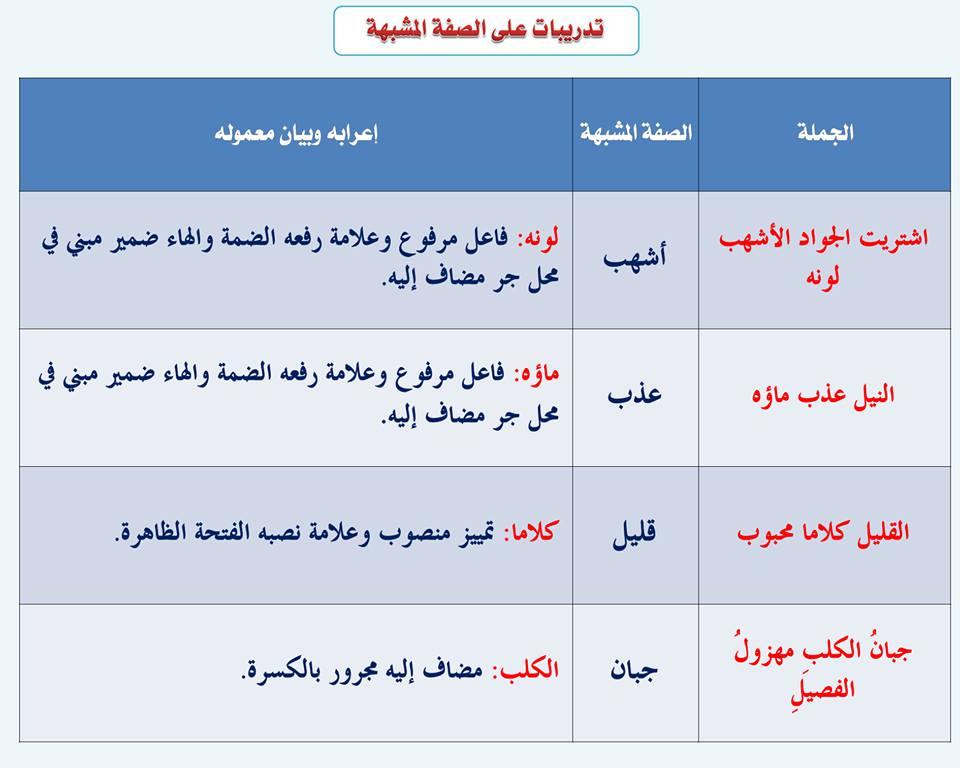 بالصور قواعد اللغة العربية للمبتدئين , تعليم قواعد اللغة العربية , شرح مختصر في قواعد اللغة العربية 54.jpg