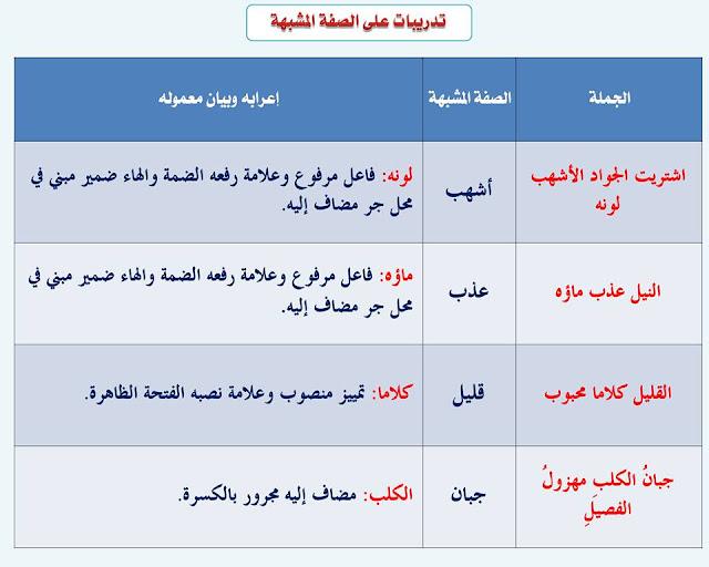"""انفراد.... كل قواعد اللغة العربية لطلاب """"ابتدائي - اعدادي - ثانوي"""" في صورة لوحات مبسطة مع الشرح والتدريبات 54"""