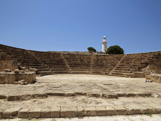 Cyprus Road Trip: Amphitheatre at Paphos Archaeological Park
