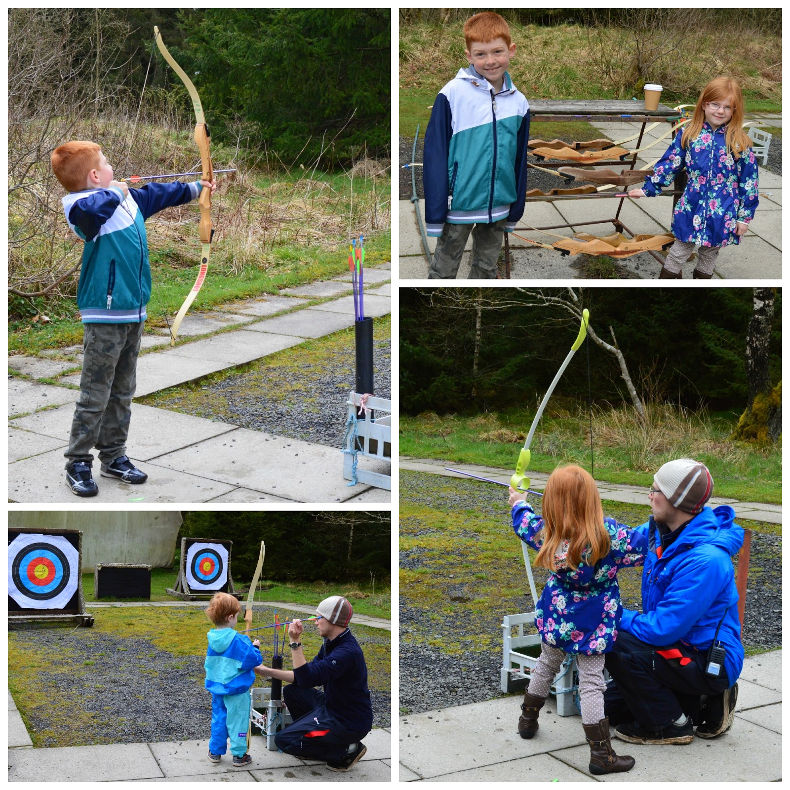 Children's archery at The Calvert Trust, Kielder - A review