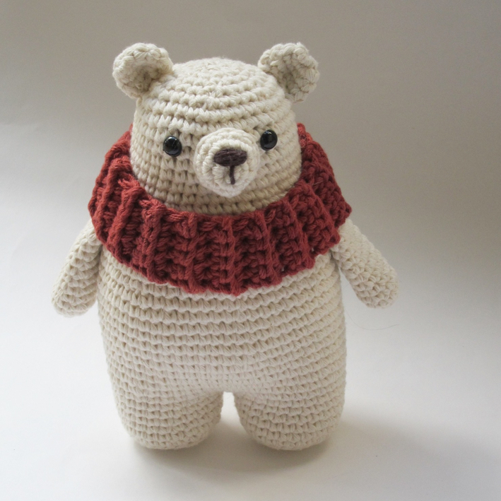 Amour Fou Crochet Leopold The Polar Bear