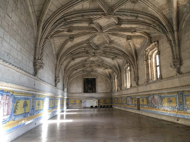 Mosteiro dos Jerónimos - Refeitório