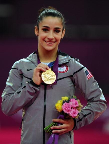 aly raisman gold medal floor routine