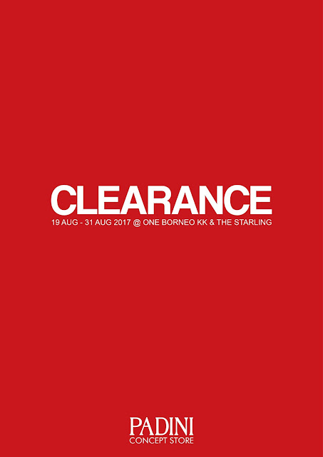 Padini Concept Store Fair Clearance Sale Discount Offer Promo