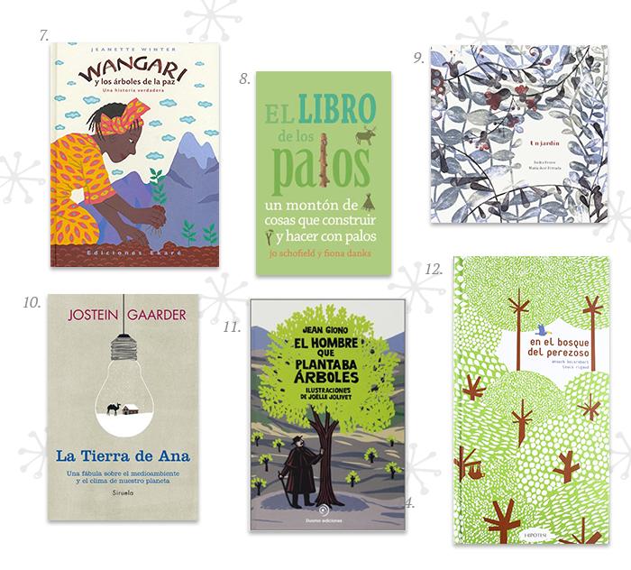 12 Libros de medioambiente para niños
