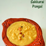 Sakkarai Pongal Recipe(with Milk)