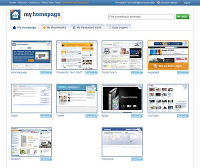 myhomepage.com – A Review of an Online Bookmarking Website 2